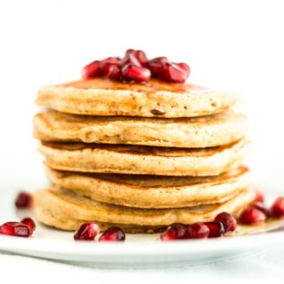 Deliciously Simple Whole Wheat Pancakes