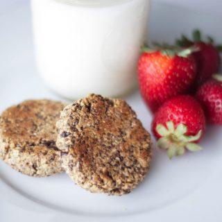 Almond Chia Seed Energy Cookies {Vegan, Gluten-Free}