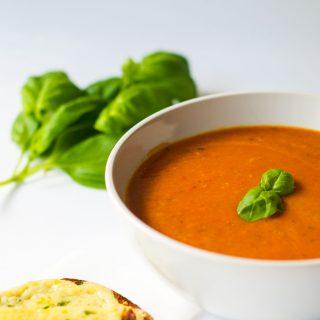 Classic Tomato Soup {Vegan}