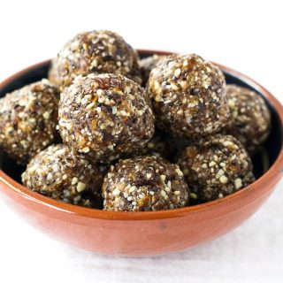 Cherry Almond Energy Balls {Vegan, Gluten Free}
