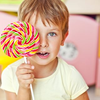 Sugar guidelines for children