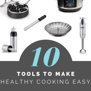 10 tools to make healthy cooking easy