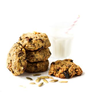 Cherry Almond Breakfast Cookies {Vegan, Gluten Free}