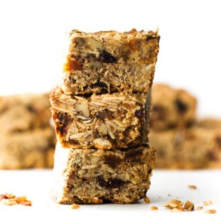 Fruit and Nut Granola Bars {Gluten Free}