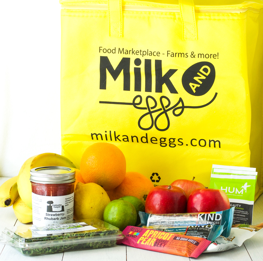 Milk & Eggs giveaway
