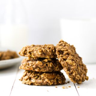 Peanut Butter Breakfast Cookies {Vegan, GF}