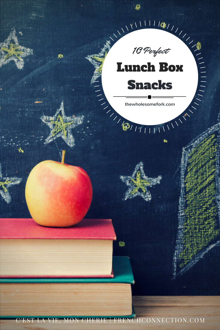 10 Perfect Lunch Box Snacks