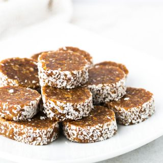 3-Ingredient Date Bites {Vegan, Grain Free}
